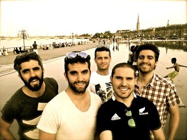 Españoles en Burdeos